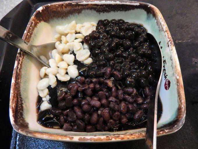 豆花には大豆イソフラボンがたっぷり