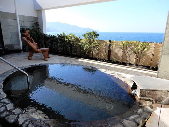 最上階の展望露天風呂からも絶景が