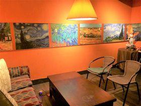 ゴッホの絵に囲まれた台北のプライベートレストラン「遇見梵谷 Meet Van Gogh」