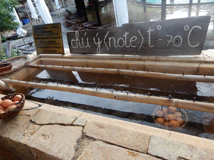 ベトナムにも温泉卵が!