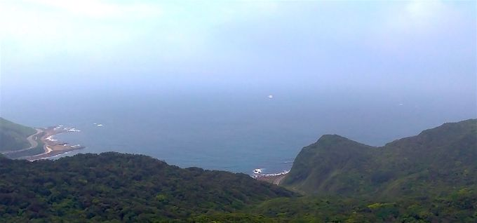 東シナ海を一望