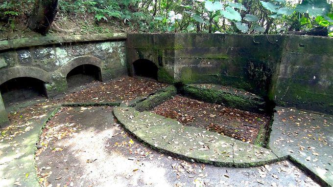 基隆港を守る要塞