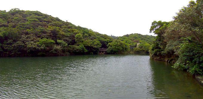 情人湖を巡る