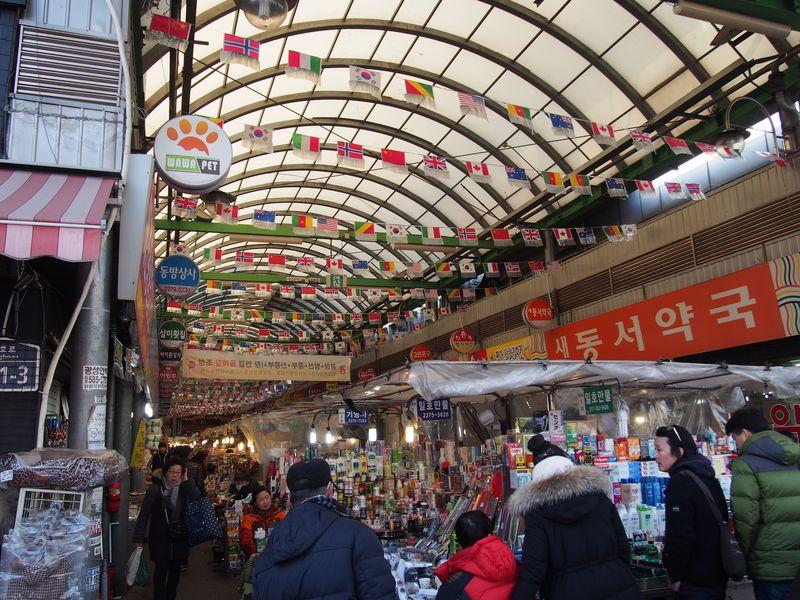 韓国ソウル「広蔵市場」で庶民派グルメを楽しもう!