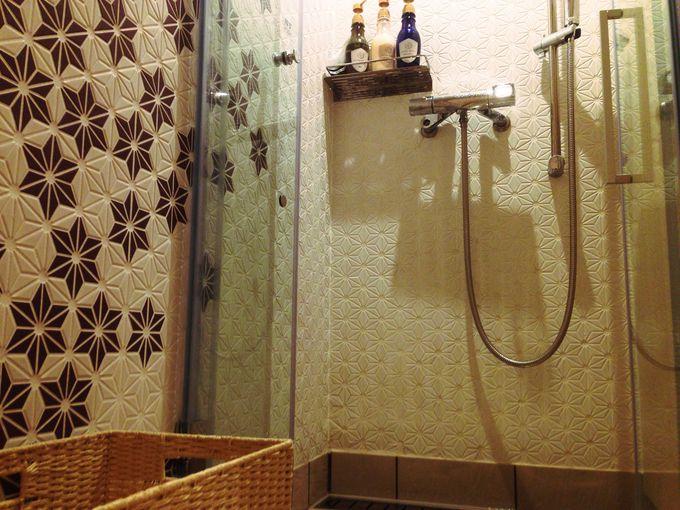 プライベートに使えるシャワールーム