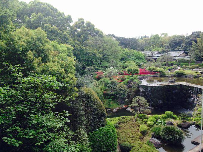 絶景の日本庭園