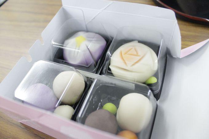 作れる和菓子は練り切り2種類