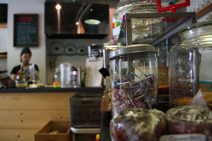 街歩きの休憩はおすすめのニューヨークテイストなカフェへ
