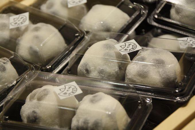 食後は人気の和菓子をデザートに♪
