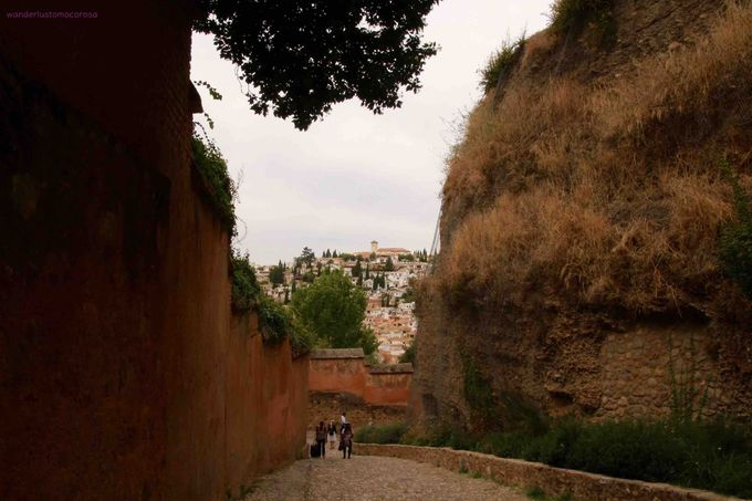 アルハンブラ宮殿からの景色もお見逃しなく!