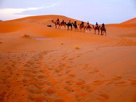 新月に願いごとを、マラケシュからサハラ砂漠ツアーへ!