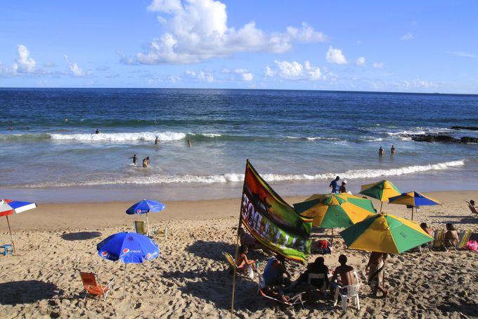1年中泳げる街、まずはビーチへ!