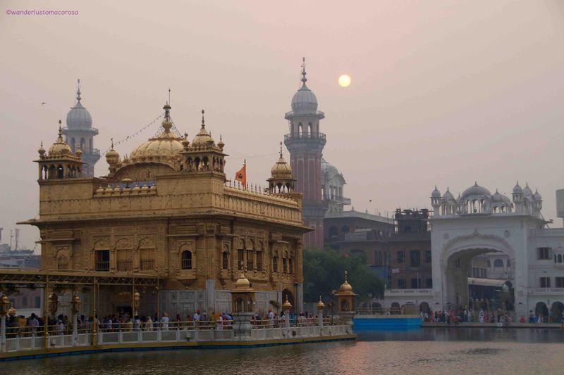 眩しすぎる黄金寺院!シーク教の聖地・インド「アムリトサル」