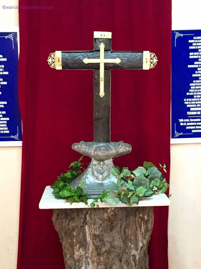 コロンブスがアメリカ大陸に残した十字架、オリジナルはここだけ!