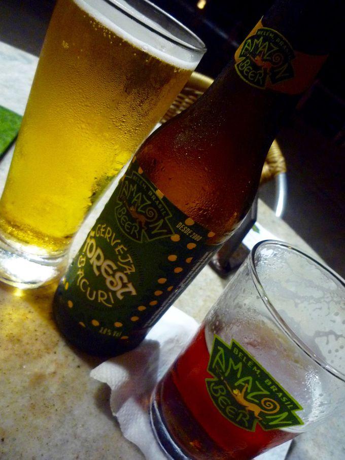 ベレンの地ビール「アマゾンビール」とマラジョー島名物「水牛チーズ」は黄金コンビ!