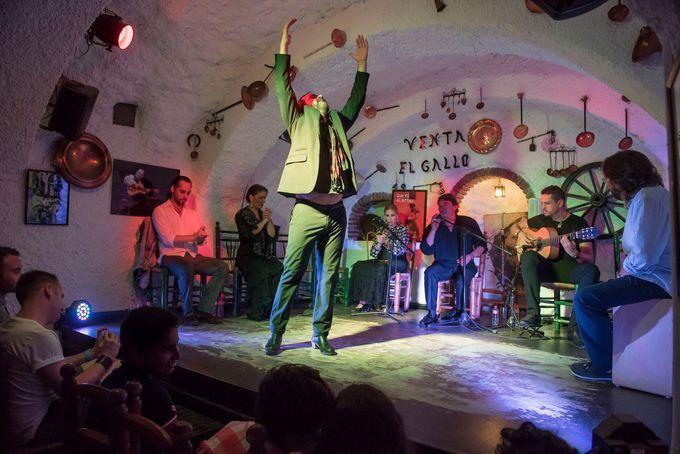 夜:フラメンコ発祥の地で本場のショーを
