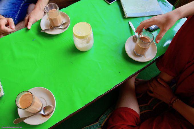 ガンジス川からオアシスまで!くつろぎのカフェ