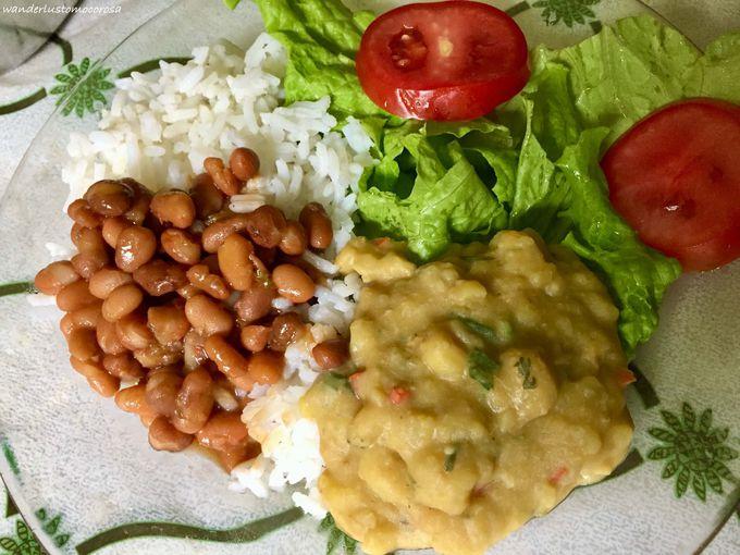 バイーア州内陸部の伝統料理!「ジャカ」と「ゴド ジ バナナ」