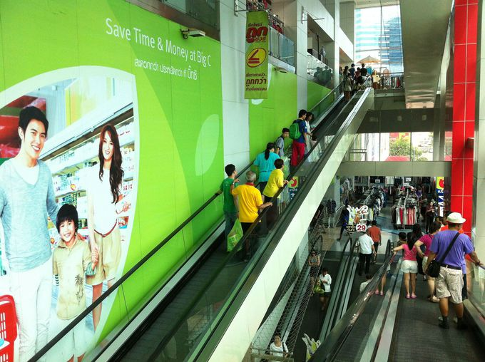 タイ国内に店舗が点在するビッグCはとにかく便利
