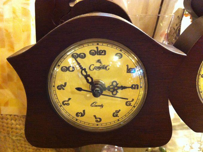 """タイ旅行の思い出に!コロコロかわいい""""タイ数字の時計"""""""