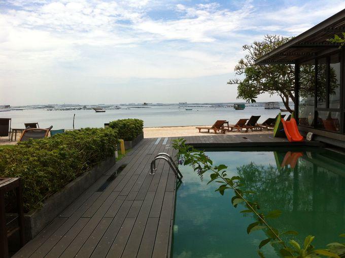 バンコクから近い!プライベートビーチで贅沢な時間を