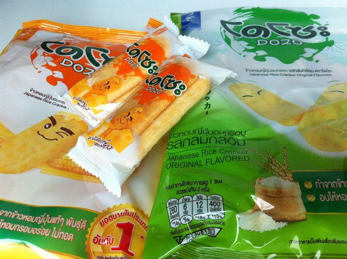 タイの定番スナック菓子「どーぞ(DOZO)」