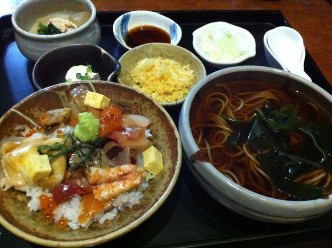 美味しい豆腐とお手軽寿司ランチが堪能できる「水琴」