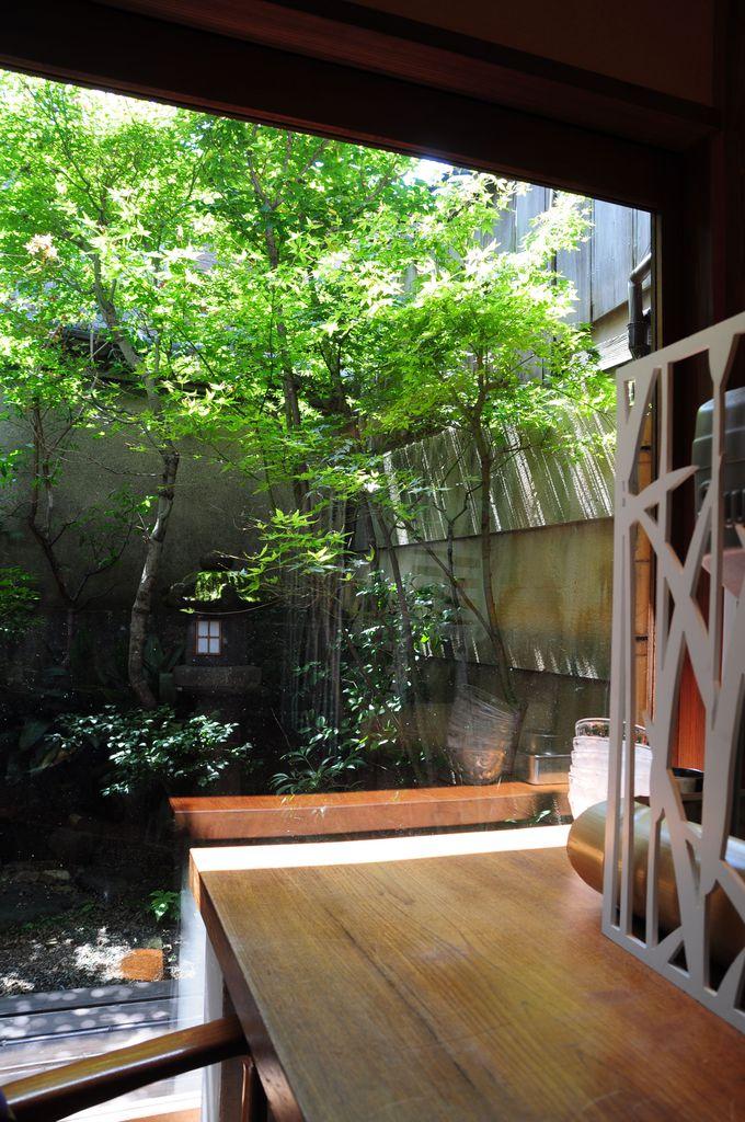モダンでありながら、京都らしさも。