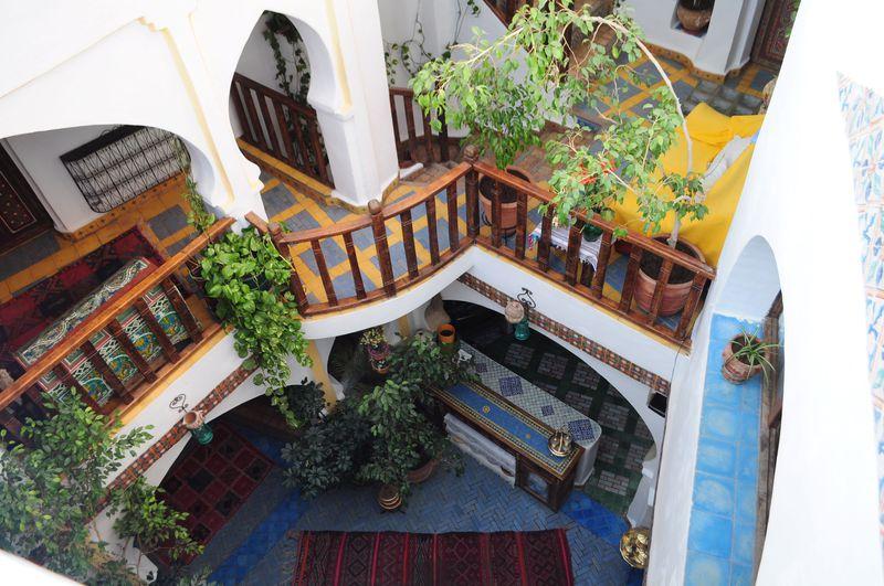 モロッコの邸宅の宿、リヤドに泊まろう!