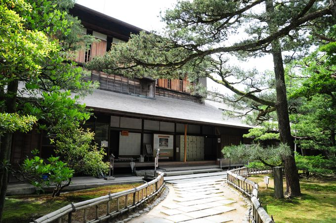 江戸後期の数寄者のセンスが光る名建築「成巽閣」