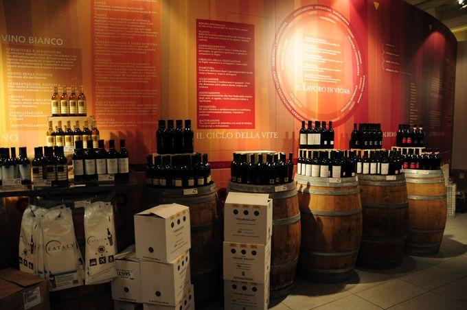 ワインは樽から直接買える!