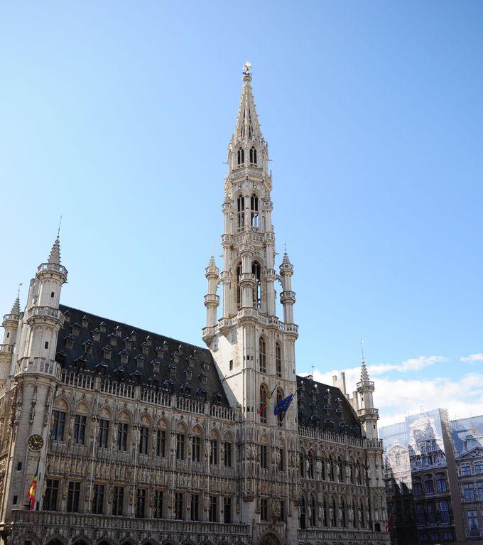 世界一美しい広場のあるブリュッセルへ!