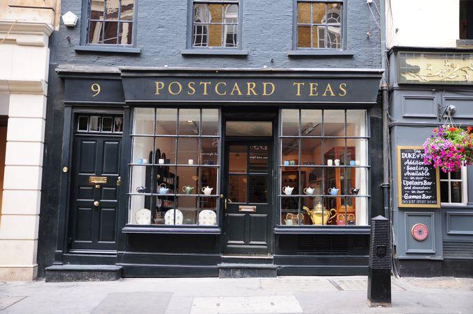 ロンドンの中心地にひっそりと構えるお洒落なお店
