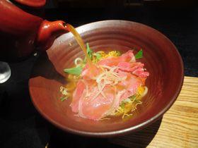 彦根城下「麺匠ちゃかぽん」!熱々お出汁で近江牛をしゃぶしゃぶに!