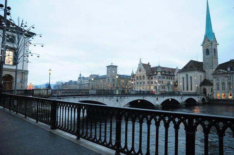 短時間で街の魅力を満喫!スイス・チューリッヒで早朝散歩