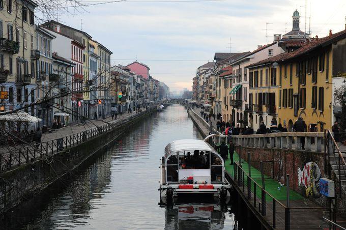 ミラノはかつて、水の都だった!?