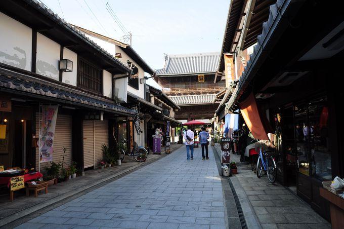 黒壁スクエアを抜けて、大通寺へ