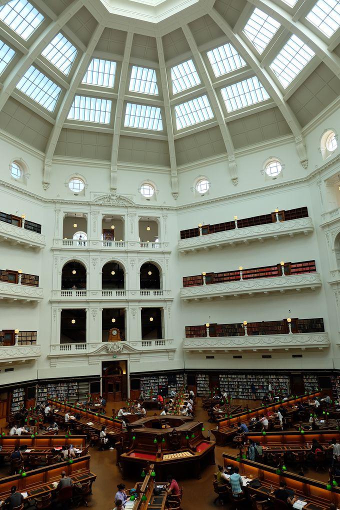 世界一美しい!ビクトリア州立図書館へ!!