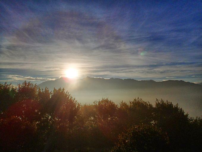 6日目・阿里山で台湾最高峰 玉山に昇るご来光を
