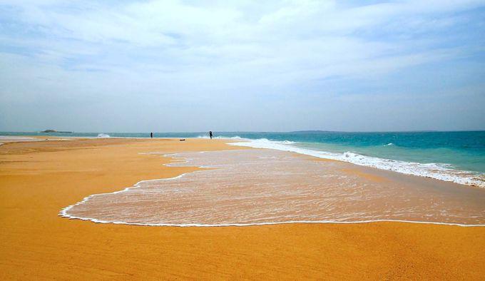 330度が青い海!白い砂浜!「吉貝沙尾」