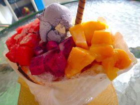 台湾のハワイ「澎湖諸島」330度広がる海とマンゴーかき氷!