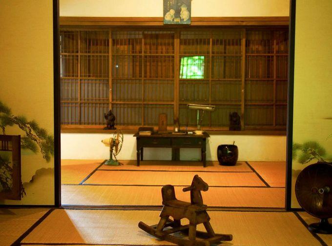 日本に帰国したかのような錯覚を覚える「四連棟」
