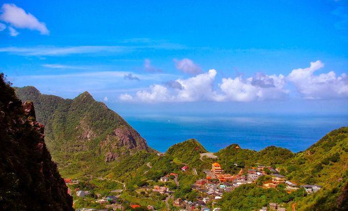 「黄金神社」から見下ろす格別の景色
