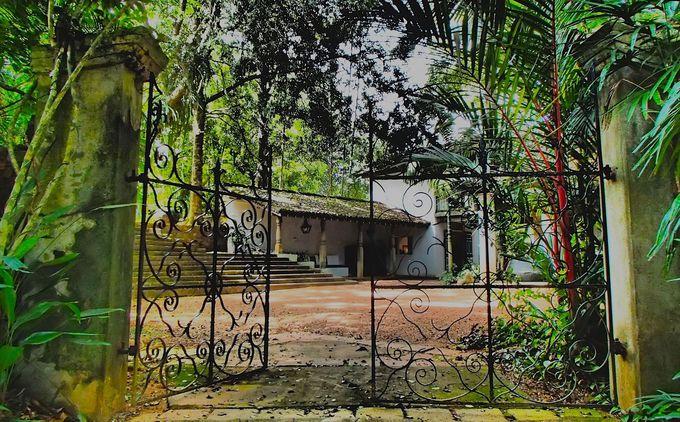スリランカ南西海岸の湖畔にたたずむ理想郷