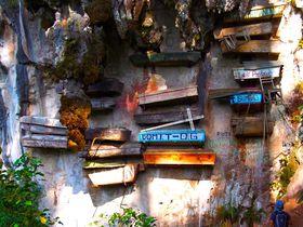 断崖に棺!不思議な埋葬を見にフィリピン「サガダ」に行こう