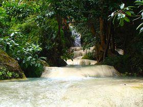 タイで一番美しい「エラワンの滝」ドクターフィッシュの天然スパを味わおう!