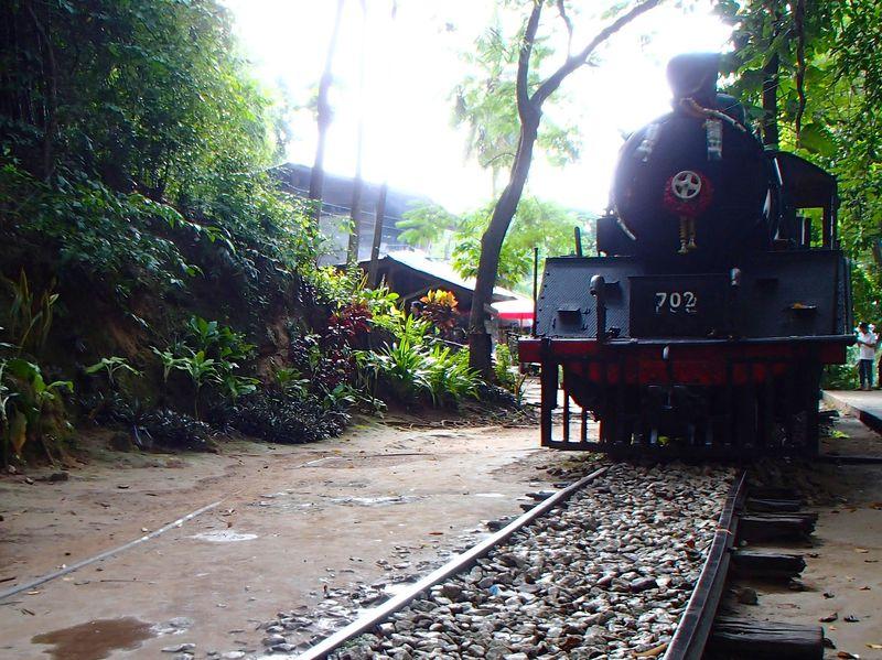 映画「戦場にかける橋」の舞台へ タイ泰緬鉄道の旅