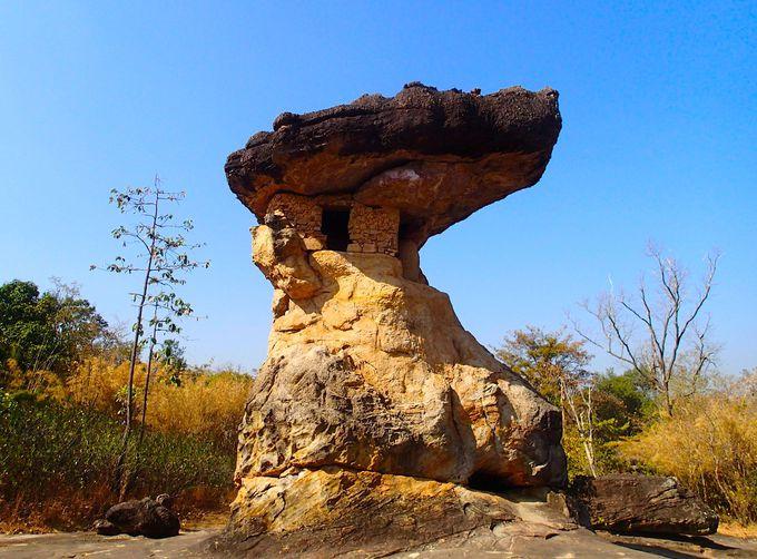 公園のシンボル「ウサの塔」