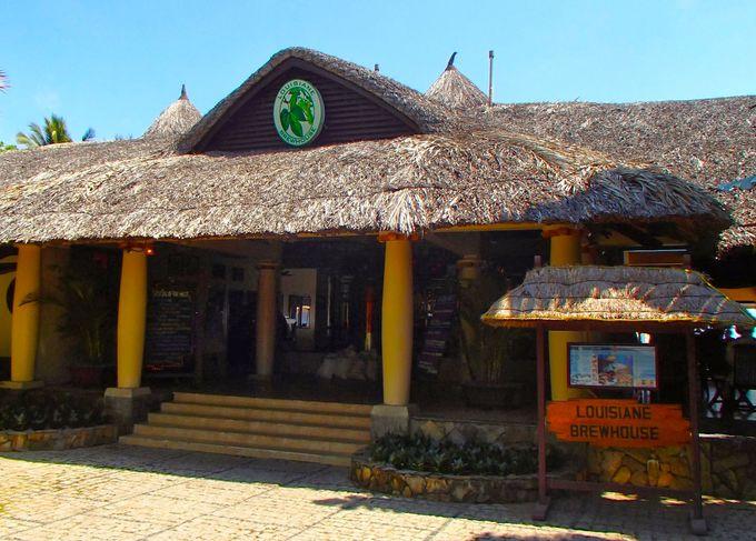 ニャチャンの数少ないビーチサイドレストラン