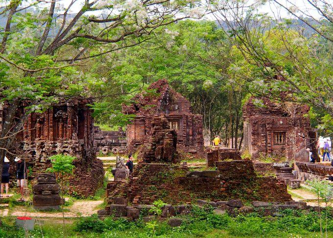 その歴史は4世紀。チャンパ王国におけるヒンドゥー教の聖地「ミーソン」
